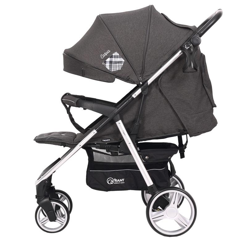 Детская прогулочная коляска Rant Caspia Trends (Серый)