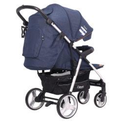 Детская прогулочная коляска Rant Caspia Trends (Синий)