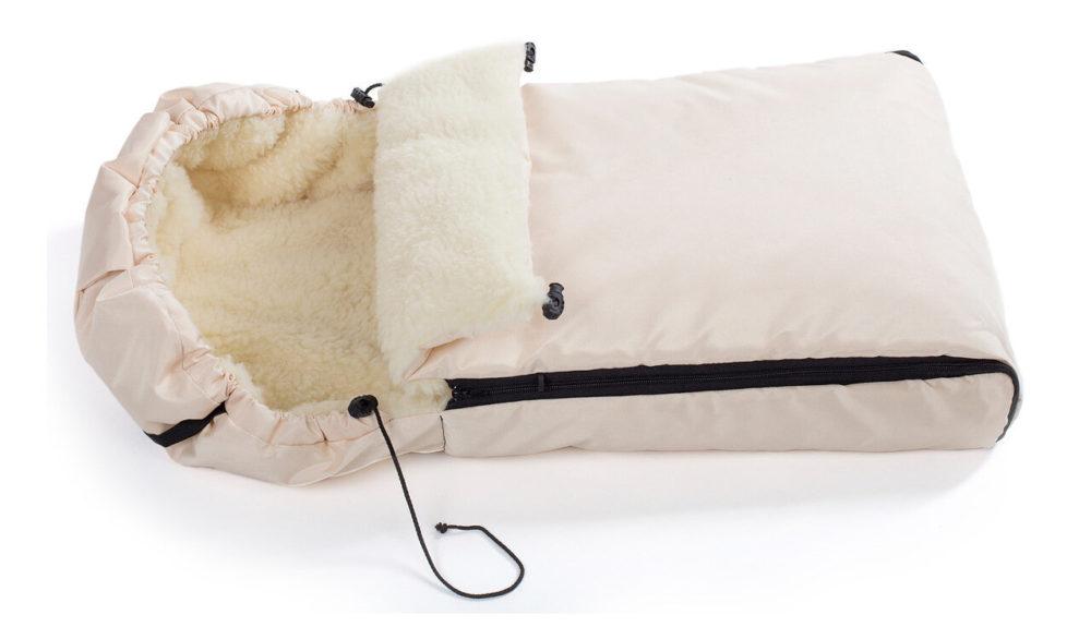 Конверт Reindeer меховой из овчины (Бежевый)