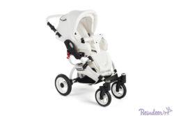 Детская коляска Reindeer City Prestige Wiklina 2 в 1 с конвертом (белый)