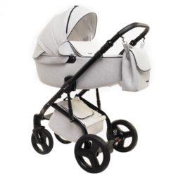 Детская коляска Reindeer Raven 3 в 1 (Белый)