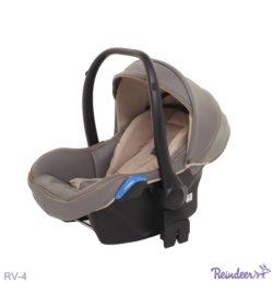 Детская коляска Reindeer Raven 3 в 1 (Серый/Бежевый)