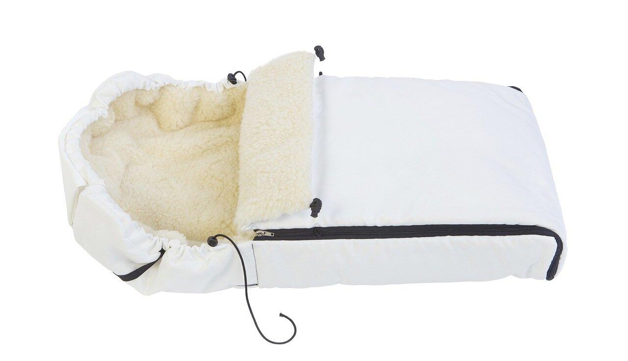 Конверт Reindeer меховой из овчины (Белый)