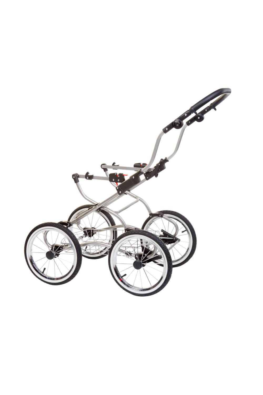 Детская коляска Reindeer Prestige Wiklina Eco-line 2 в 1 с конвертом (коричневый)