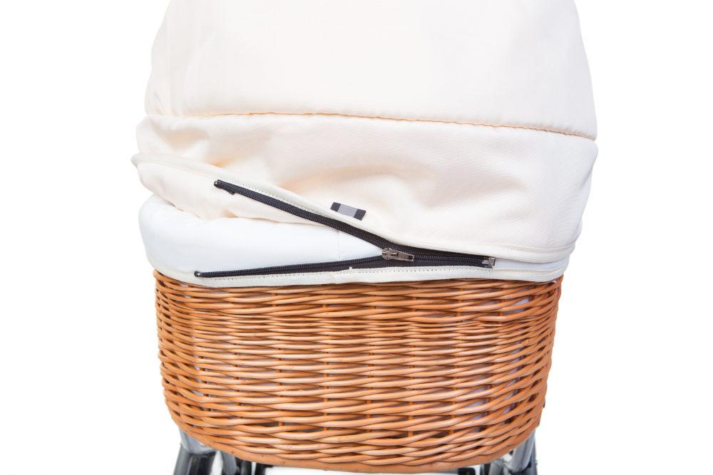 Коляска-люлька Reindeer Prestige Wiklina Eco-line люлька+автокресло с конвертом (белый)