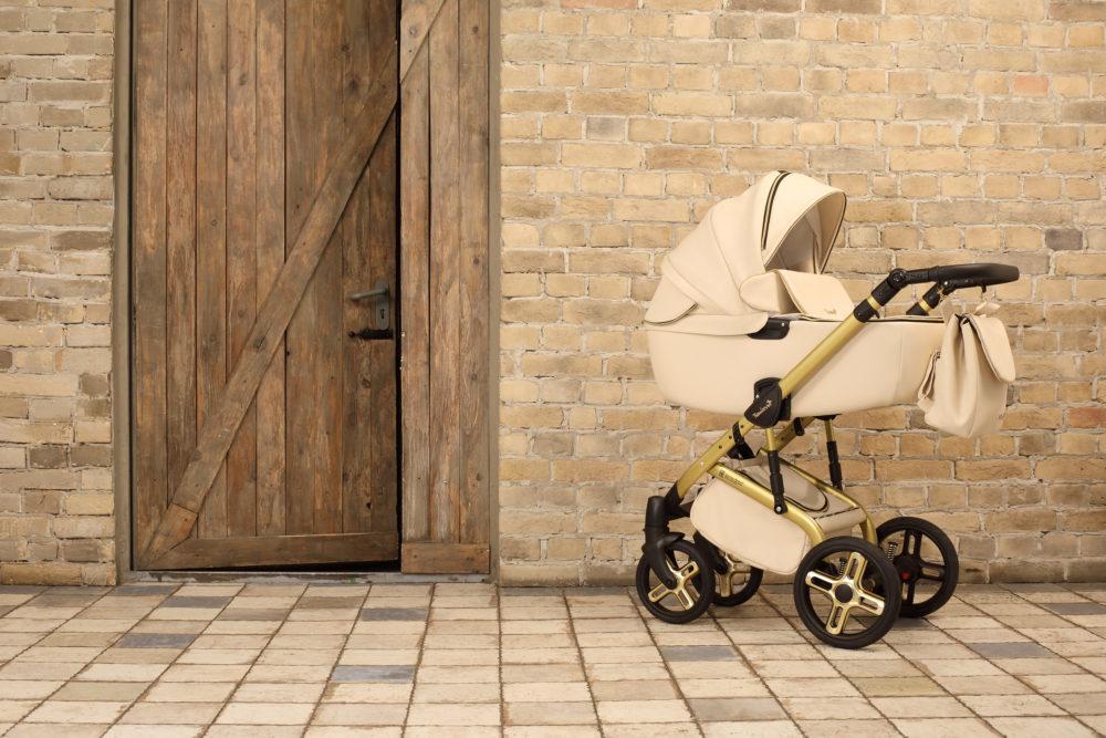 Детская коляска Reindeer Raven 2 в 1 (Бежевый)