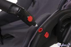 Детская коляска Reindeer Raven 3 в 1 (Фиолетовый)