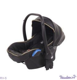 Детская коляска Reindeer Raven 3 в 1 (Черный/бежевый)