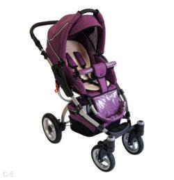 Детская коляска Reindeer City Cruise 2 в 1 (фиолетовый)