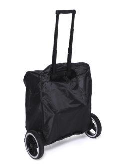 Детская прогулочная коляска Yoya Plus Pro (Черный/красный)