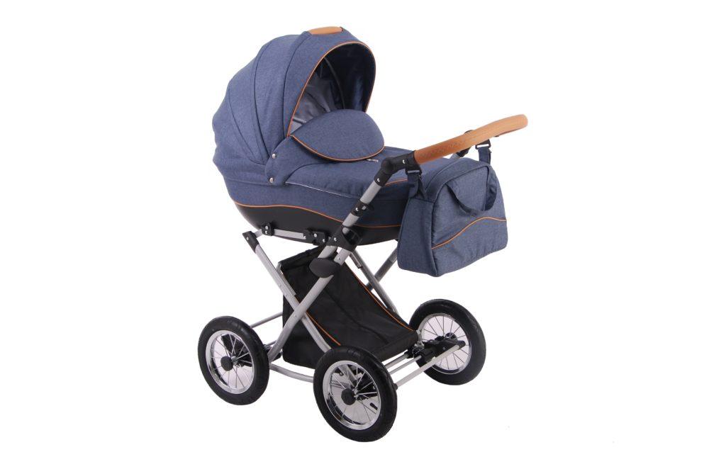 Детская коляска LONEX PARRILLA 2 В 1 (Синий)