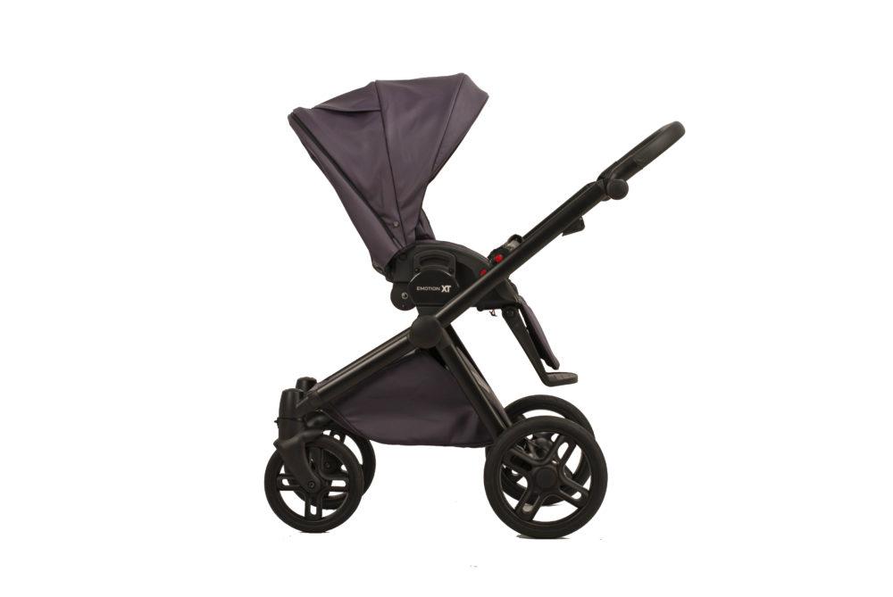 Детская коляска LONEX EMOTION XT ECO 2 В 1 (Фиолетовый)