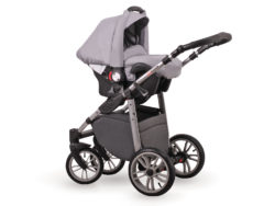 Детская коляска LONEX FIRST 3 В 1 (Серый)
