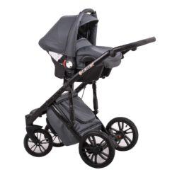 Детская коляска LONEX COMFORT GALLAXY 3 В 1 (Черный)