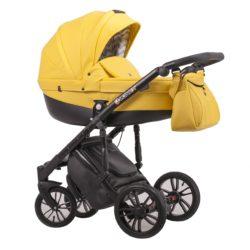 Детская коляска LONEX COMFORT GALLAXY 2 В 1 (Желтый)
