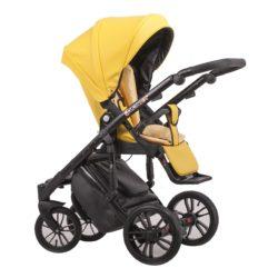 Детская коляска LONEX COMFORT GALLAXY 3 В 1 (Желтый)