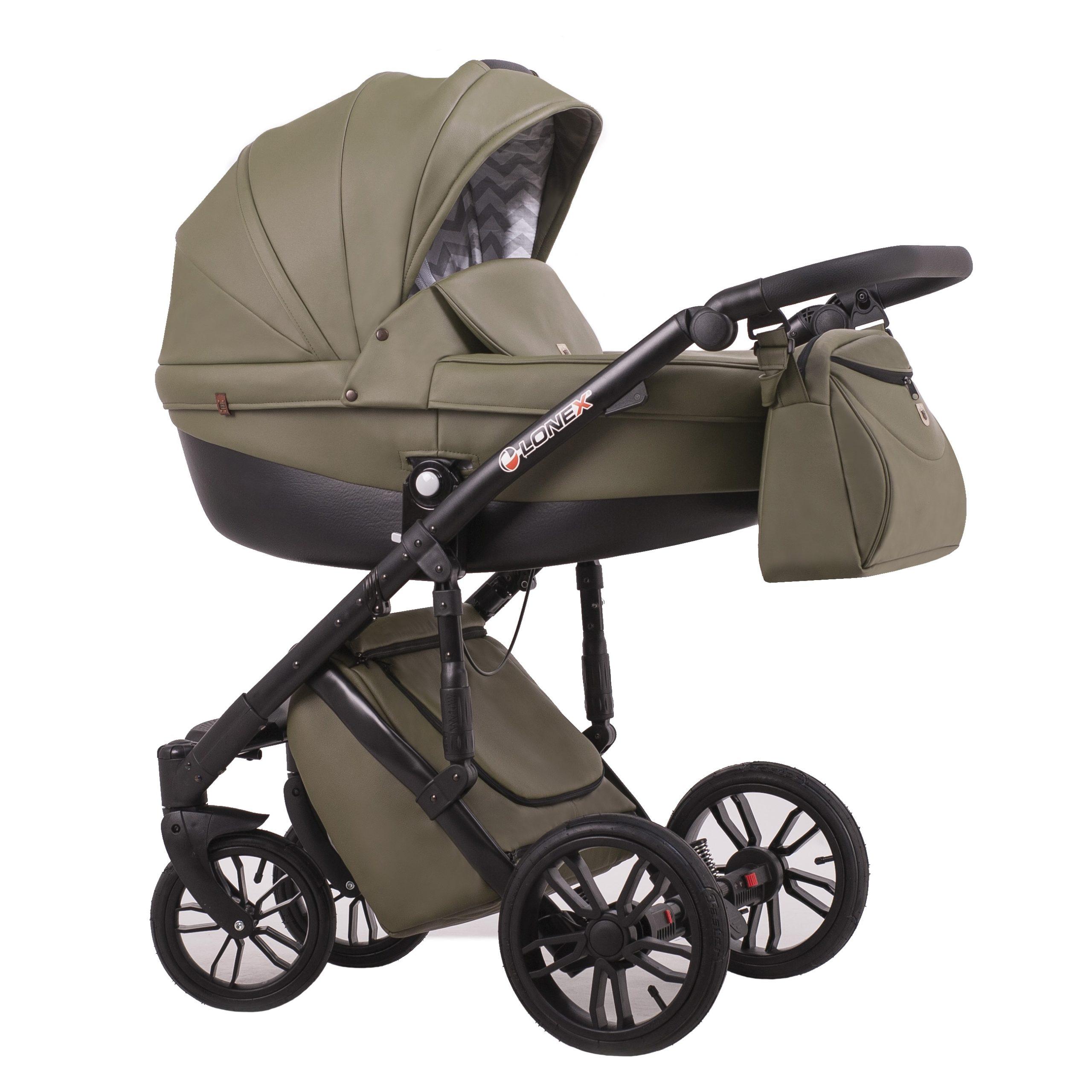 Детская коляска LONEX COMFORT GALLAXY 2 В 1 (Хаки)
