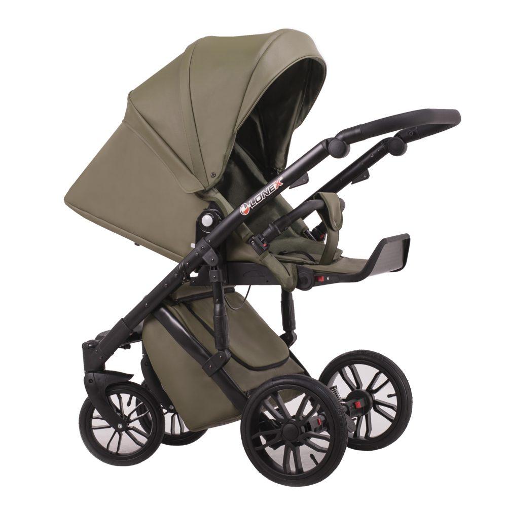 Детская коляска LONEX COMFORT GALLAXY 3 В 1 (Хаки)