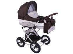Детская коляска Lonex Julia Baronessa 2 в 1 (Коричневый)
