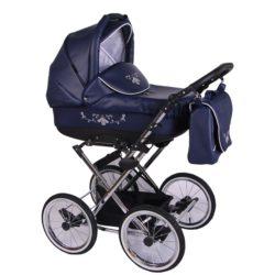 Детская коляска Lonex Julia ECCO 2 в 1 (Синий)
