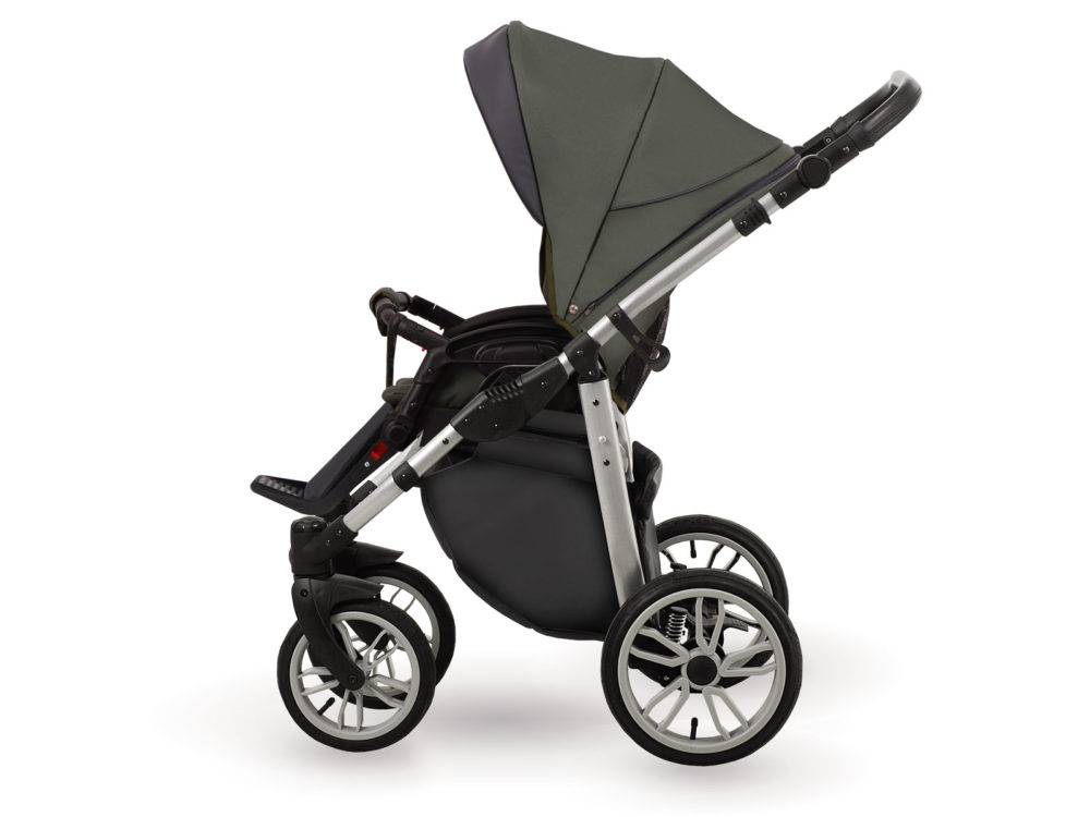 Детская коляска LONEX FIRST 2 В 1 (Зеленый)