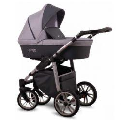 Детская коляска LONEX FIRST 2 В 1 (Серый)
