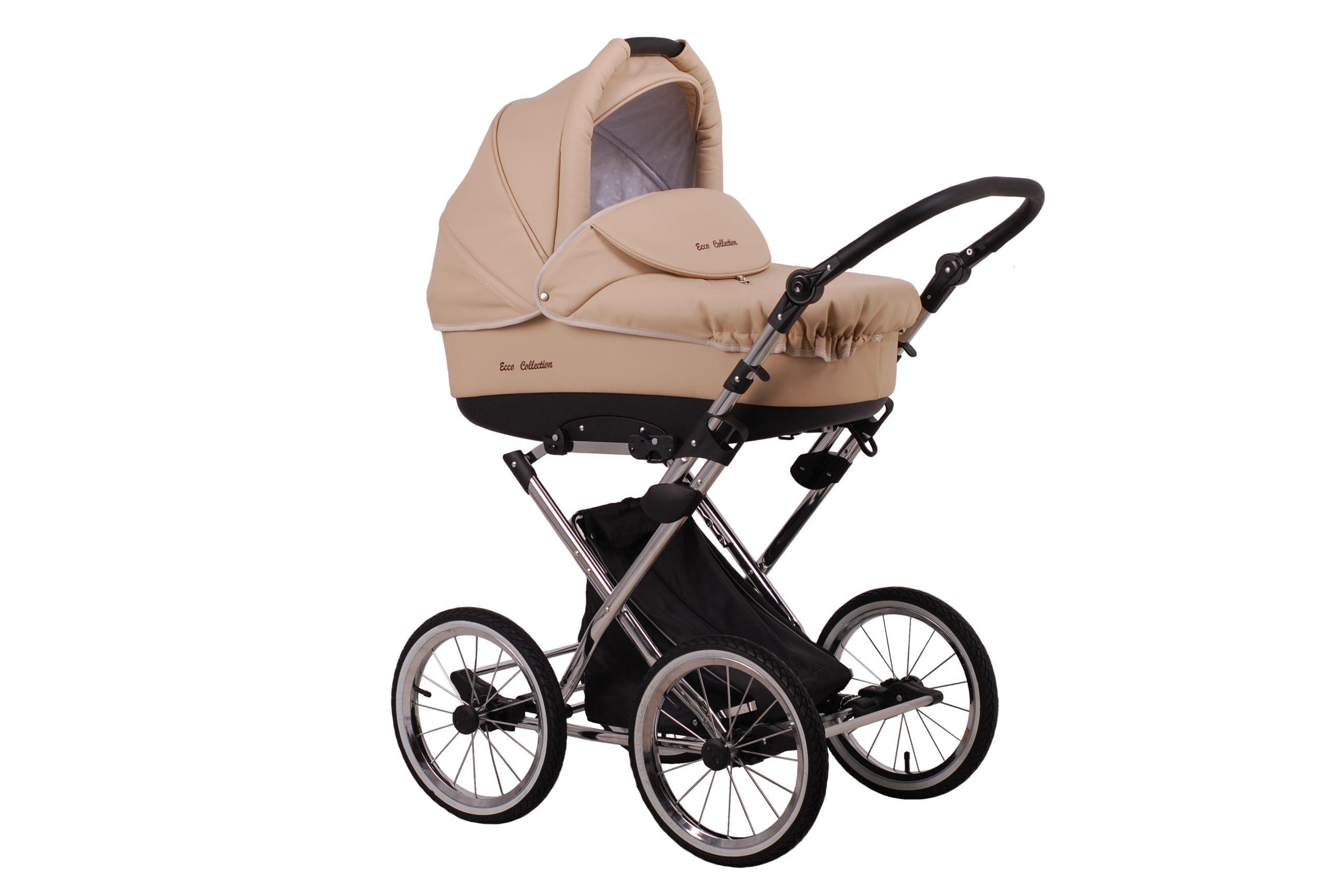 Детская коляска Lonex Julia ECCO 2 в 1 (Бежевый)