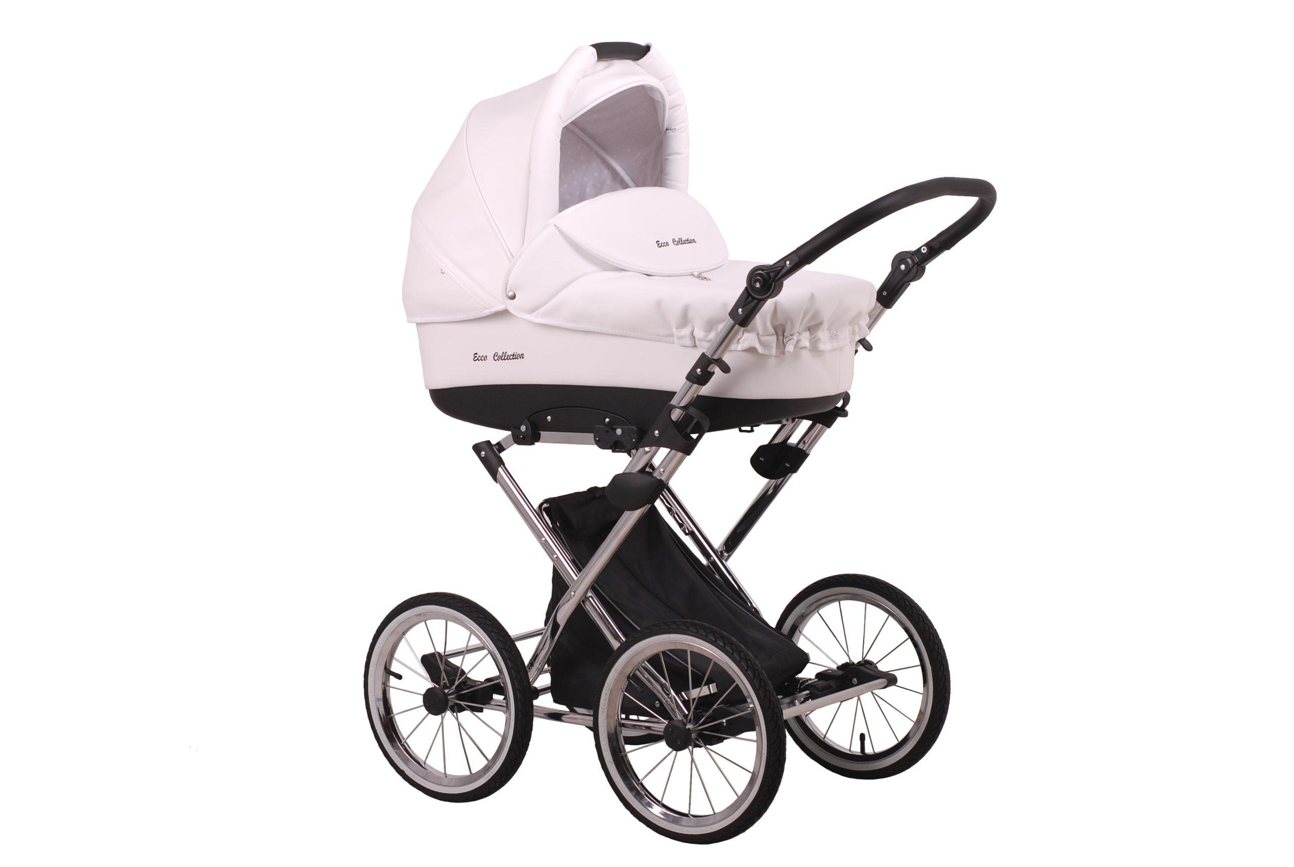 Детская коляска Lonex Julia ECCO 2 в 1 (Белый)