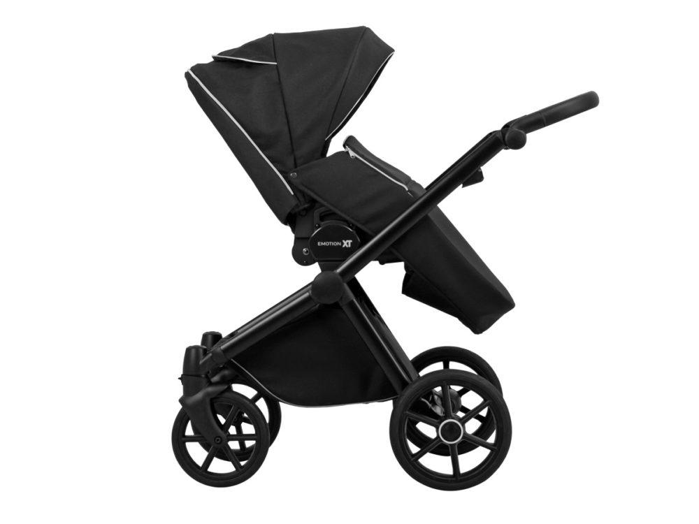 Детская коляска LONEX EMOTION XT COMBO 3 В 1 (Белый/черный)