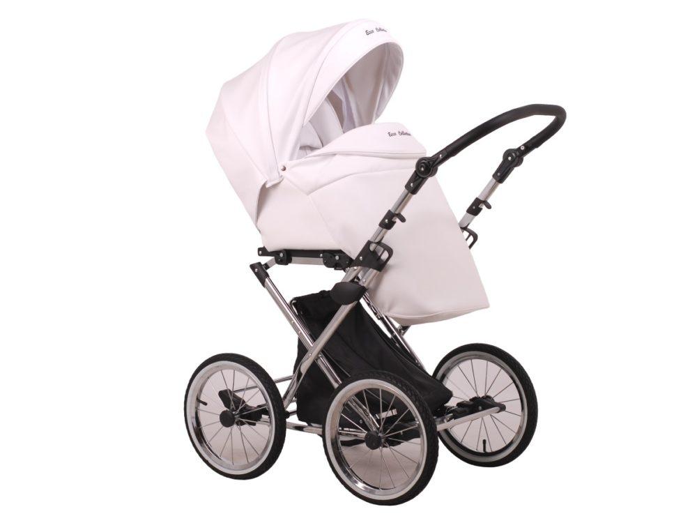 Детская коляска Lonex Julia ECCO 3 в 1 (Белый)