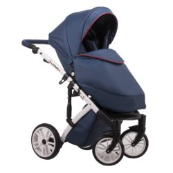 Детская коляска LONEX COMFORT GALLAXY 2 В 1 (Синий/белый)