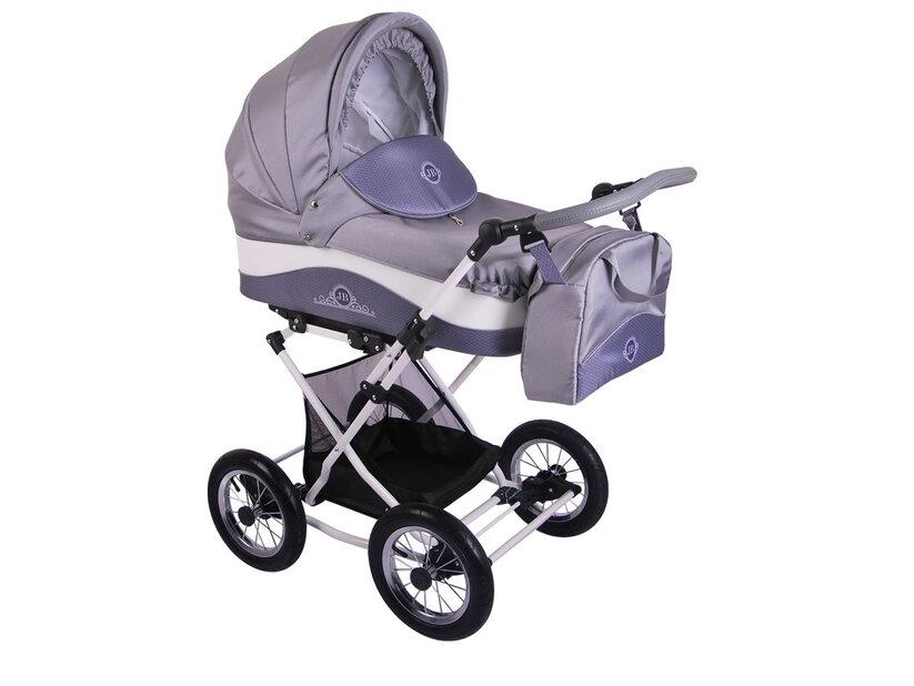 Детская коляска Lonex Julia Baronessa 2 в 1 (Серый)