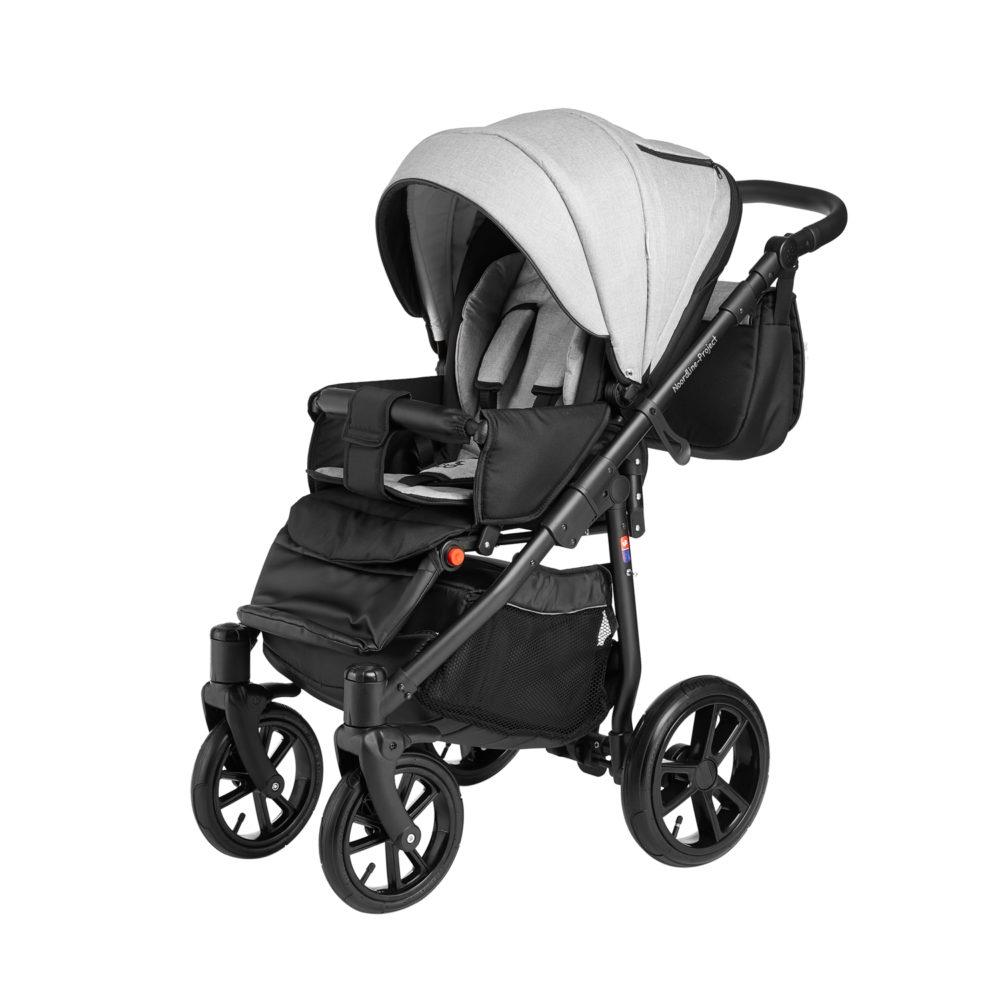 Детская коляска Noordline Beatrice Sport 2 в 1 (Серый)