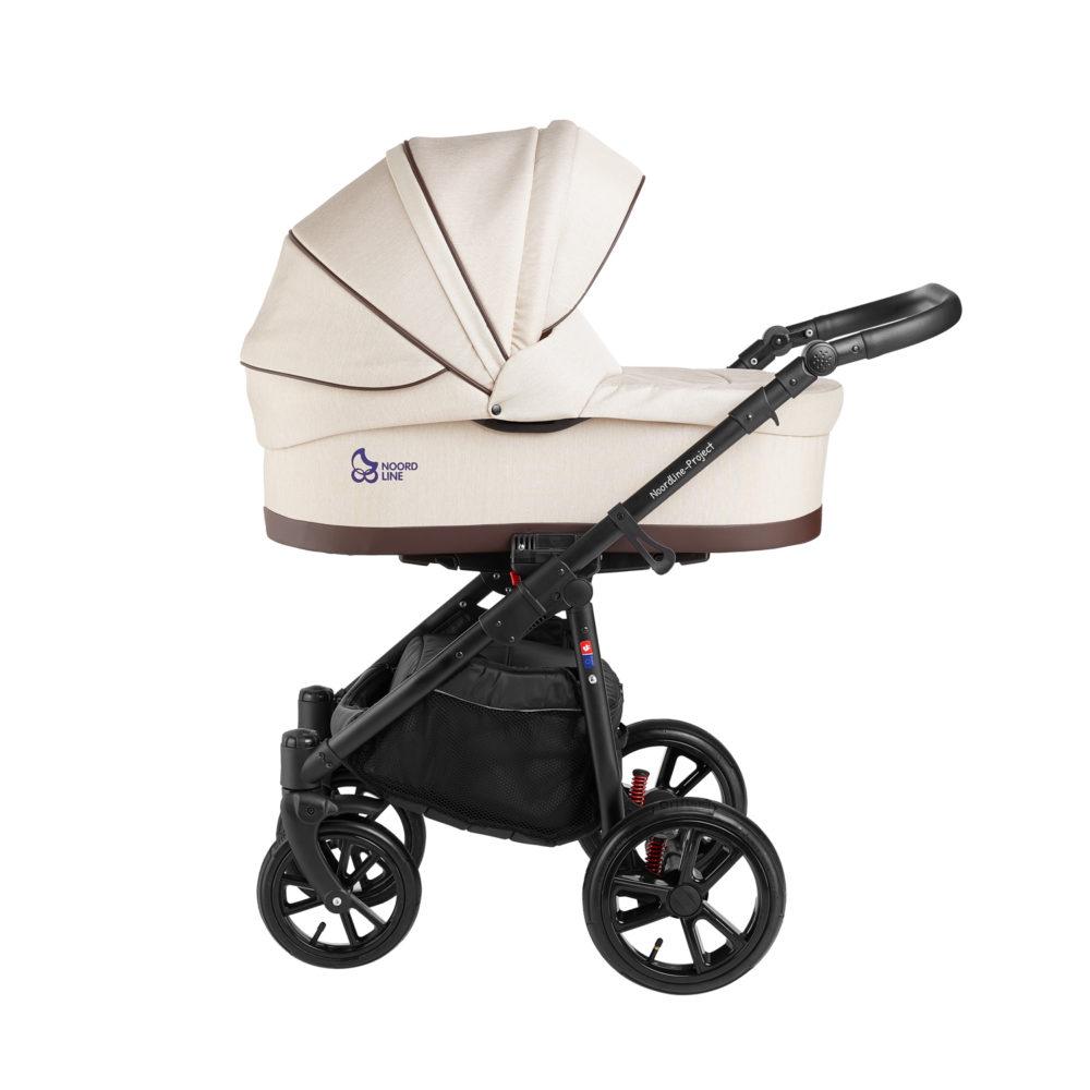 Детская коляска Noordline Beatrice Sport 3 в 1 (Бежевый)