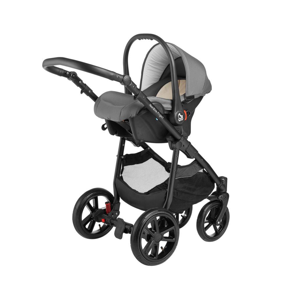 Детская коляска Noordline Beatrice Sport 3 в 1 (Серый)