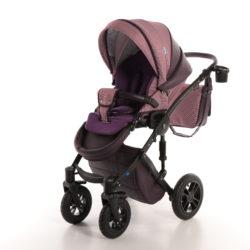 Детская коляска Noordline Stephania Combi 3 в 1 (Фиолетовый)