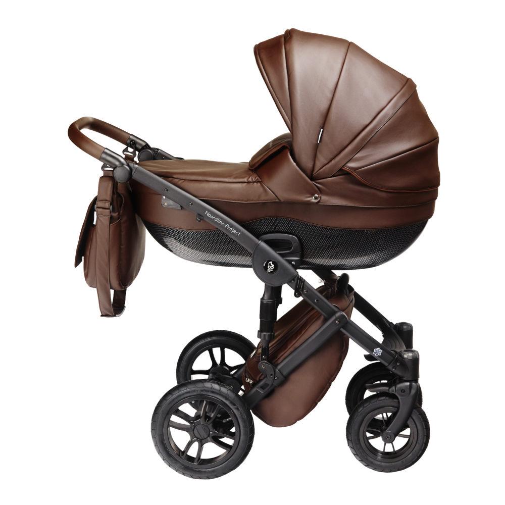 Детская коляска Noordline Stephania Style 2 в 1 (Коричневый)