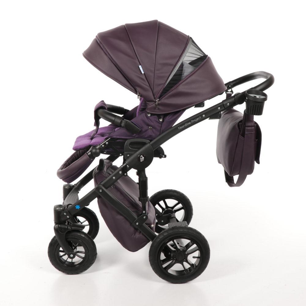 Детская коляска Noordline Stephania Style 2 в 1 (Фиолетовый)