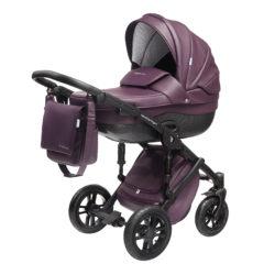 Детская коляска Noordline Stephania Style 3 в 1 (Фиолетовый)