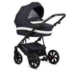 Детская коляска Tutis Zippy 2 в 1 2020 (Тёмно-синий/белый)