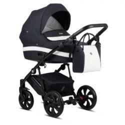 Детская коляска Tutis Zippy 3 в 1 2020 (Тёмно-синий/белый)