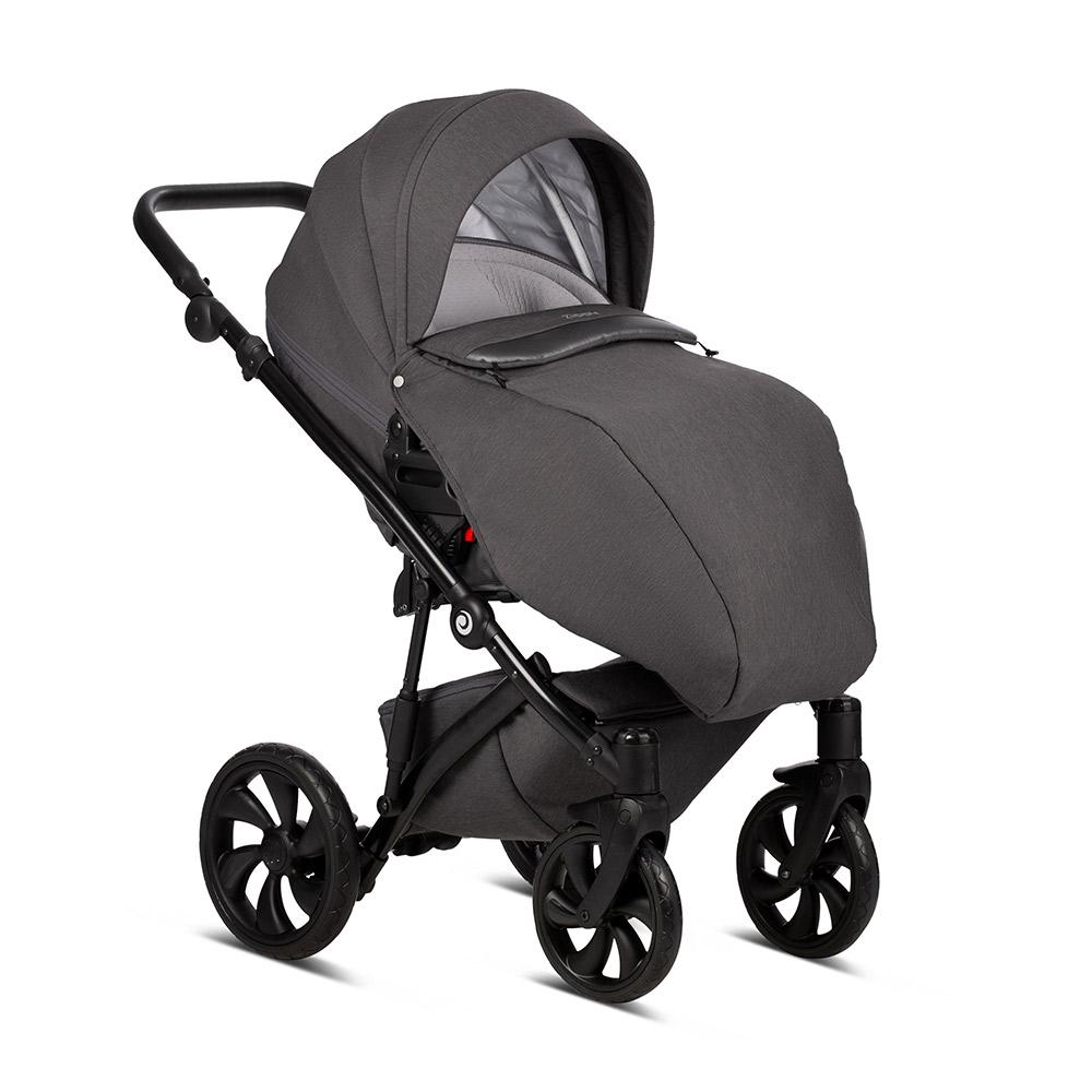 Детская коляска Tutis Zippy 3 в 1 2020 (Тёмно-серый)