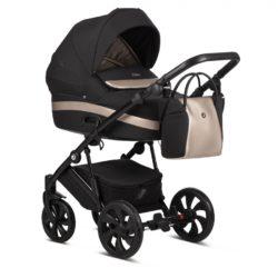 Детская коляска Tutis Zippy 3 в 1 2020 (Черный/бежевый)