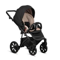 Детская коляска Tutis Zippy 2 в 1 2020 (Черный/бежевый)