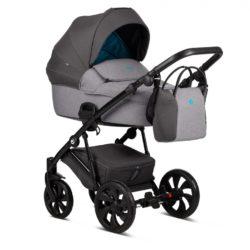 Детская коляска Tutis Zippy 2 в 1 2020 (Серый/голубой)