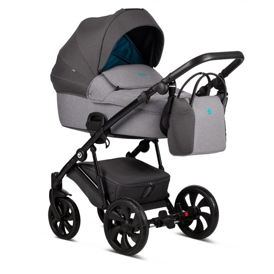 Детская коляска Tutis Zippy 3 в 1 2020 (Серый/голубой)