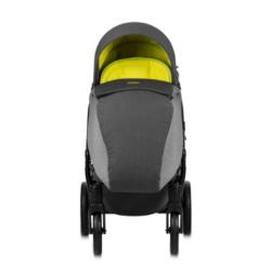 Детская коляска Tutis Zippy 3 в 1 2020 (Серый/лайм)