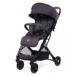 Детская прогулочная коляска Baby Care Q'bit (Темно-серый)