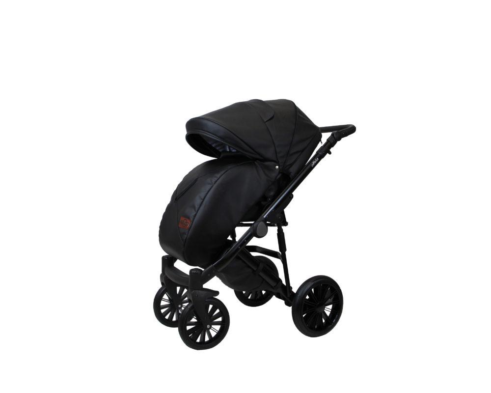 Детская коляска Bruca Olivia 2 в 1 (Черный)