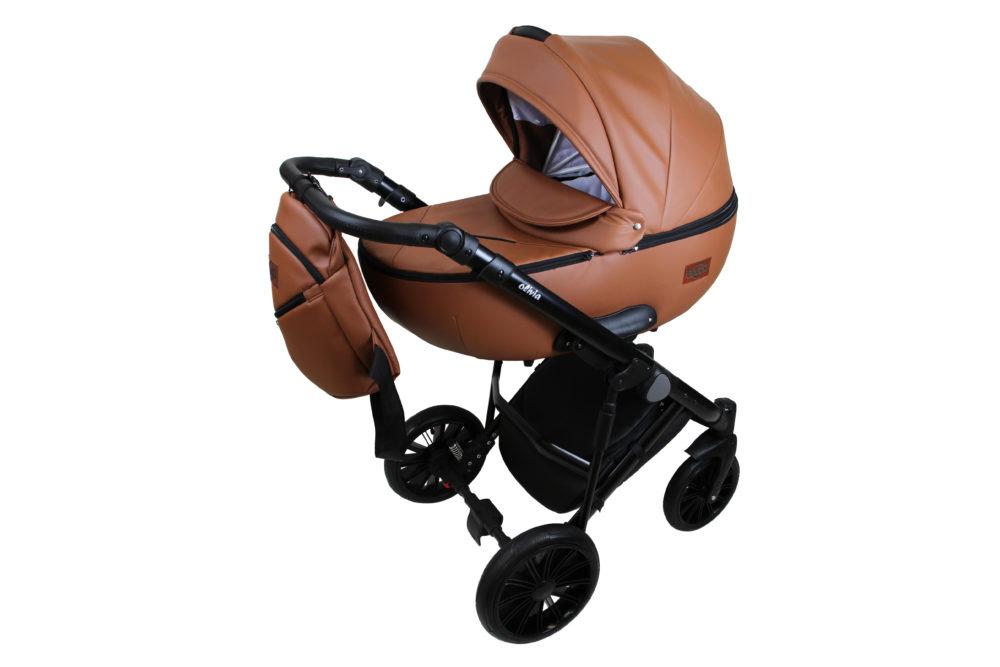 Детская коляска Bruca Olivia 2 в 1 (Светло-коричневый)